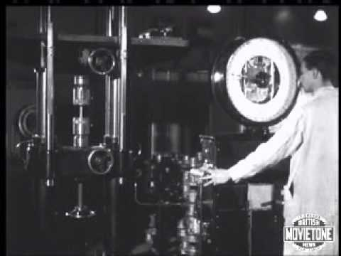 Manufacturing of the Rolls Royce Merlin Aero-Engine in 1942.