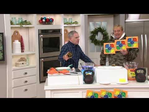 Scrub Daddy Multi-Color Set of 12 Flex Texture Sponge Set on QVC