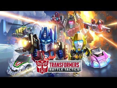 TRANSFORMERS: Battle Tactics (by DeNA Corp.) - iOS / Android - HD (Sneak Peek) Gameplay Trailer