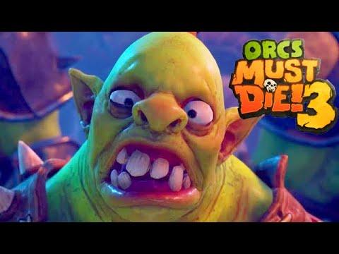 Orcs Must Die 3 Gameplay Deutsch Story #01 - Der Orkvernichter ist BACK