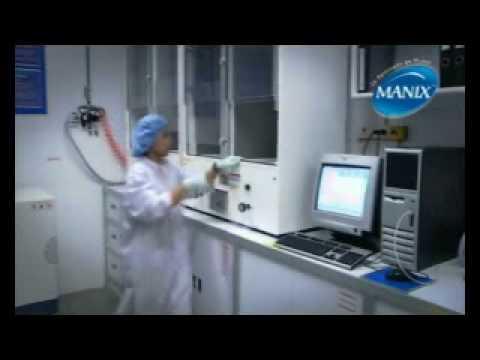 Manix - site officiel - La fabrication des préservatifs Manix.flv