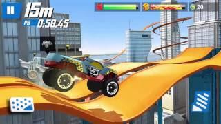 Hot wheels araba oyunu, Rıp rod ve dawgzılla arabaları, parkurlu araba yarışı oyunu - 157