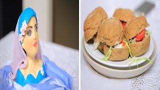 برجر دجاج - تزيين عروسة من السكر | حلو و حادق حلقة كاملة