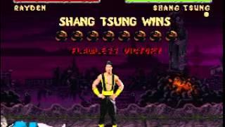 [TAS] [Obsoleted] SNES Mortal Kombat II by Samhain-Grim in 17:54.45