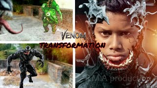 Venom Transformation in real life | A Short Film on R.M.A production