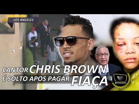 CANTOR CHRIS BROWN E SOLTO APOS PAGAR FIANCA | Js!