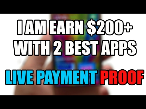 Earn money with Best 2 Apps.Live Payment PROOF👊