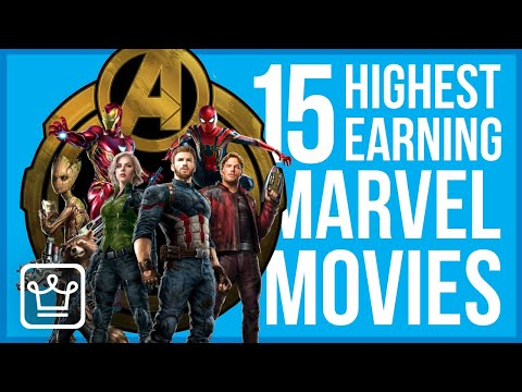 15 Highest Earning Marvel Movies