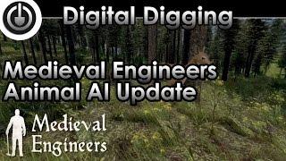 medieval engineers update 02 011 animal ai deer new types of roof tops