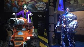 Justice League Battle for Metropolis Dark Ride for Six Flags Over Texas & St Louis IAAPA 2014