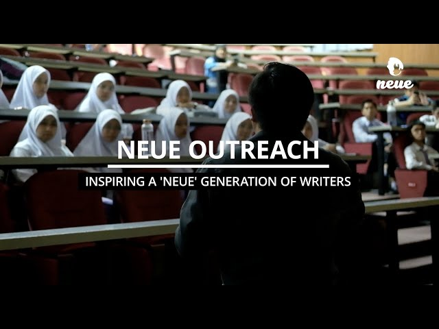 Neue Outreach: Inspiring A 'Neue' Generation Of Writers