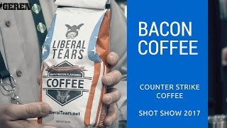 Bacon Coffee @ Shot Show 2017