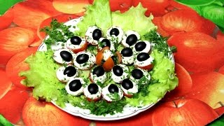 Салат из помидоров  для похудения убивает Новогодний майонез