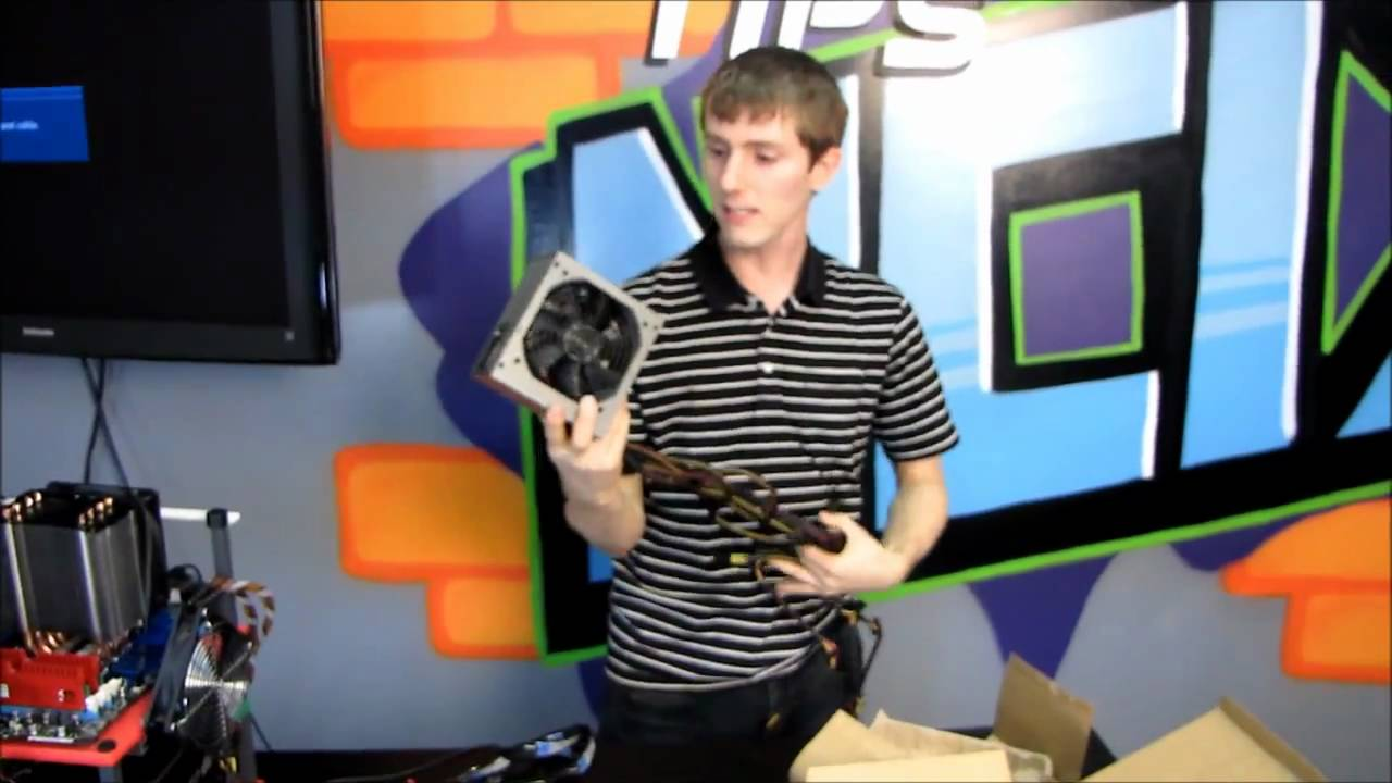 Antec Neo Eco 450W Value Power Supply Unboxing & First Look Linus Tech Tips