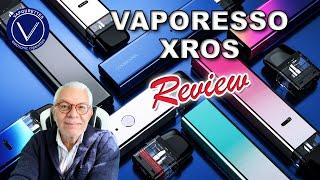 Vaporesso XROS Pod M๐d Vape Ecig Review, Tutorial and how to. Performance check.
