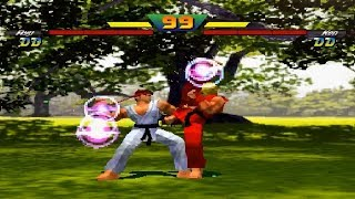 [TAS] Ryu VS Ken (Street Fighter EX Plus Alpha)
