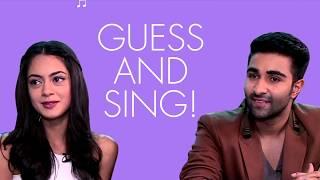 Exclusive! Qaidi Band actors Adar Jain and Anya Singh guess Hindi songs through English translations