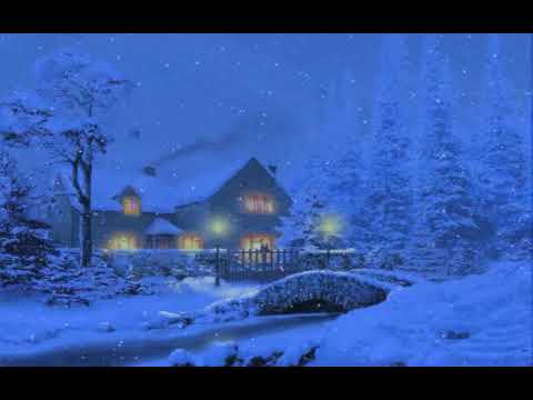 3D Snowy Cottage Animated Wallpaper Download (Free)