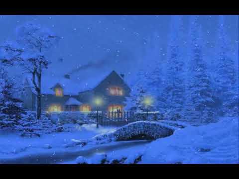 3d Snowy Cottage Animated Wallpaper Windows 7 Snow Village 3d Live Wallpaper And Screensaver Doovi