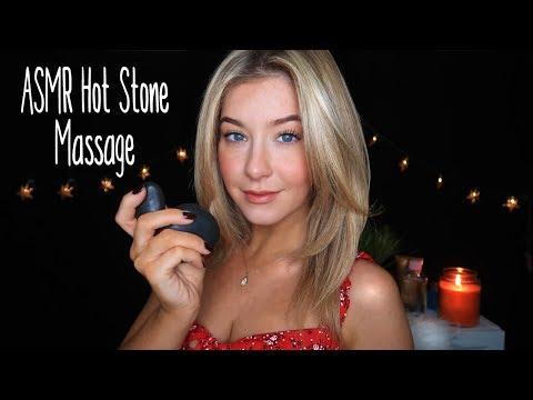 [ASMR] DEEPLY Relaxing Hot Stone Massage