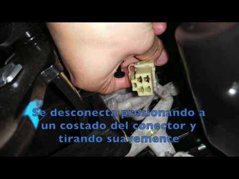 Chevrolet Aveo 2016 >> Chevrolet Spark GT 2012 - Reparación Switch luz de freno. - YouTube