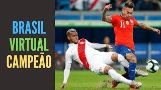 O Brasil já é o (virtual) campeão da Copa América. Você tem dúvidas?