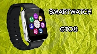 ♍Review Smartwatch gt08 español