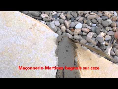 Comment Faire Joint Des Pierres Plate Maçonnerie Martinez Bagnols Sur Ceze    YouTube