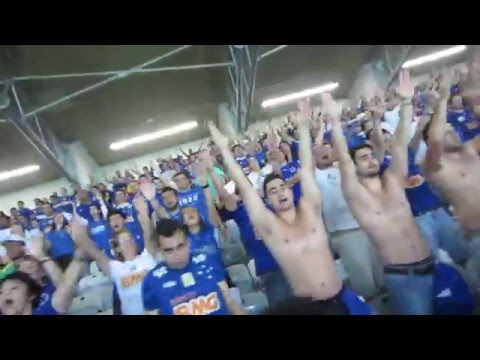 Awesome soccer / football supporters chant in Brazil!!!!  Very cool. :)