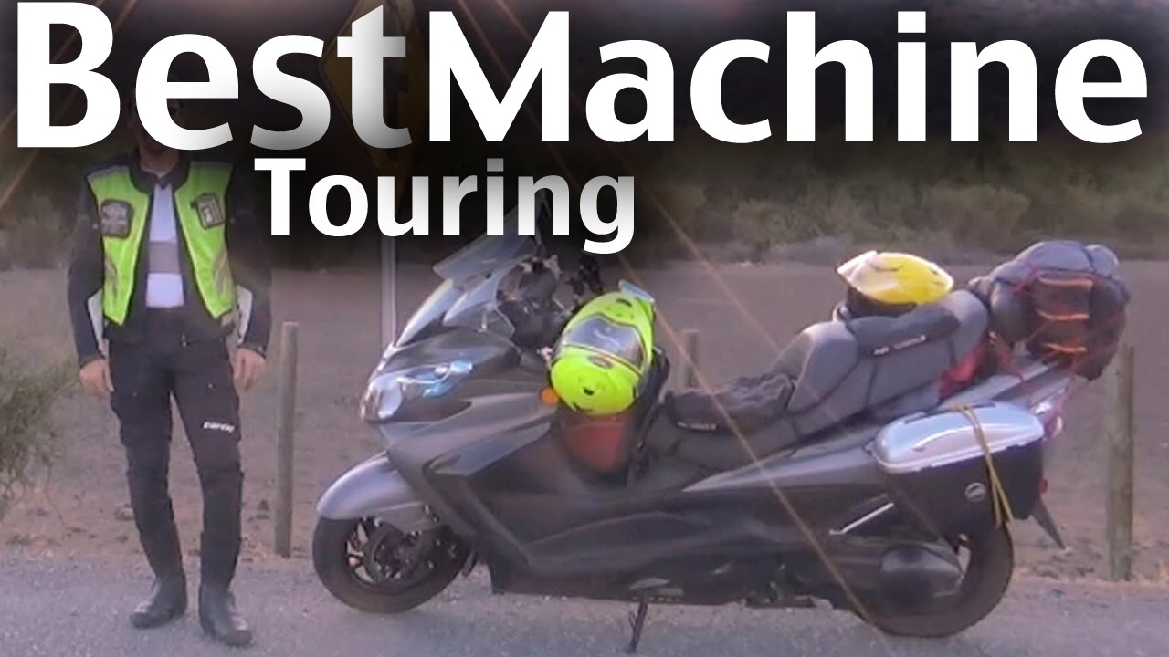 Long Distance Touring On A Suzuki Burgman Executive