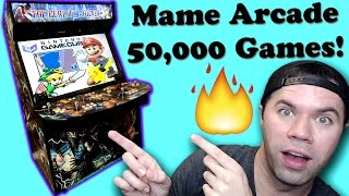 The Ultimate Mame Arcade!  Over 50,000 Games on One Machine! | Mame Arcade Review