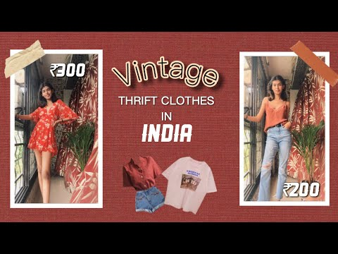COME THRIFT SHOPPING WITH ME! TRY ON HAUL! ( INDIAN EDITION) 👗