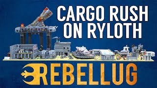 Lego Star Wars Cargo Rush on Ryloth MOC