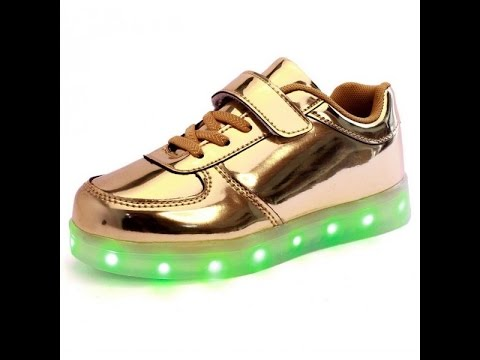 380a6127d0064 اشيك احذية اطفال ولادى جديدة 2017 - Most stylish new children s shoes and  led