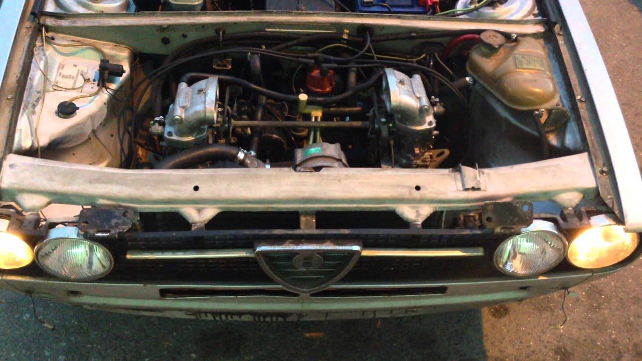 Alfa romeo engine rebuild