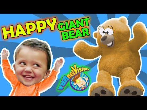 The Amazing 6ft TEDDY BEAR FUNnel Family Vlog