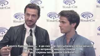 Into The Storm Movie Interview   Richard Armitage, Max Deacon & Steven Quale (RUS SUB)