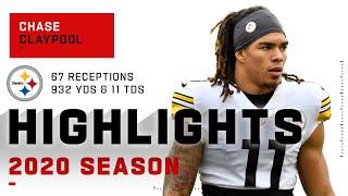 Chase Claypool Full Rookie Season Highlights