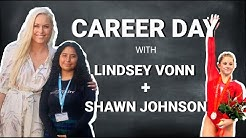 Lindsey Vonn's Virtual Career Day with Gymnast Shawn Johnson