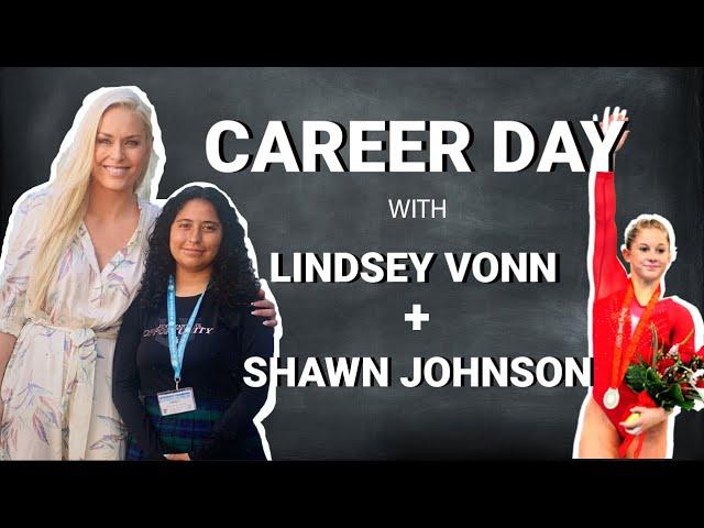 Lindsey Vonn's Virtual Career Day with Gymnast Shawn Johnson