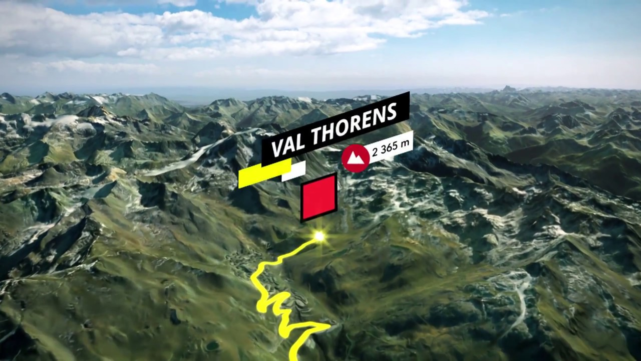 L'Etape du Tour 2019 - ROUTE / PARCOURS - Albertville to Val Thorens - YouTube