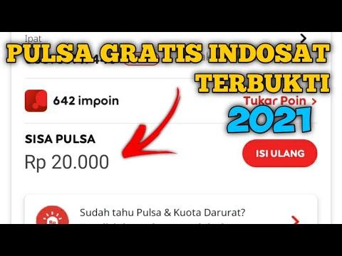 CARA MENDAPATKAN PULSA GRATIS INDOSAT - HANYA DENGAN 5 DETIK DAPAT 20.000 TERBARU 2021