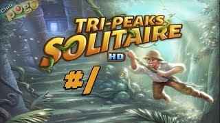 Pogo Games ~ Tri-Peaks Solitaire HD #1