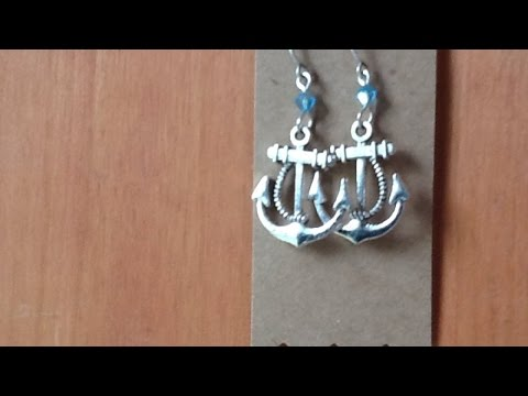 Create Trendy Nautical Anchor Earrings – DIY Style – Guidecentral