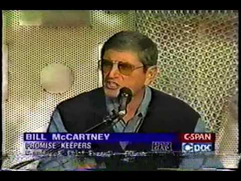 Promise Keepers 1997, Part 1, McCartney Bill
