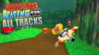 Diddy Kong Racing DS All Tracks