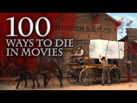 100 Ways to Die In Movies (2014) Movie Deaths Mashup HD