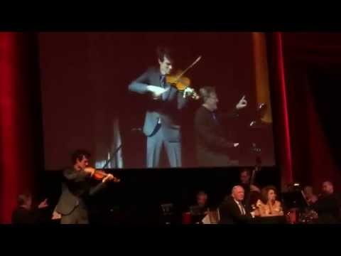 Christian Hebel Fiddler solo and Do You Love Me? with Len Cariou and Tovah Feldshuh.