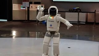 How Robots Dance, Some Cool Moves, Asimo Honda Robot