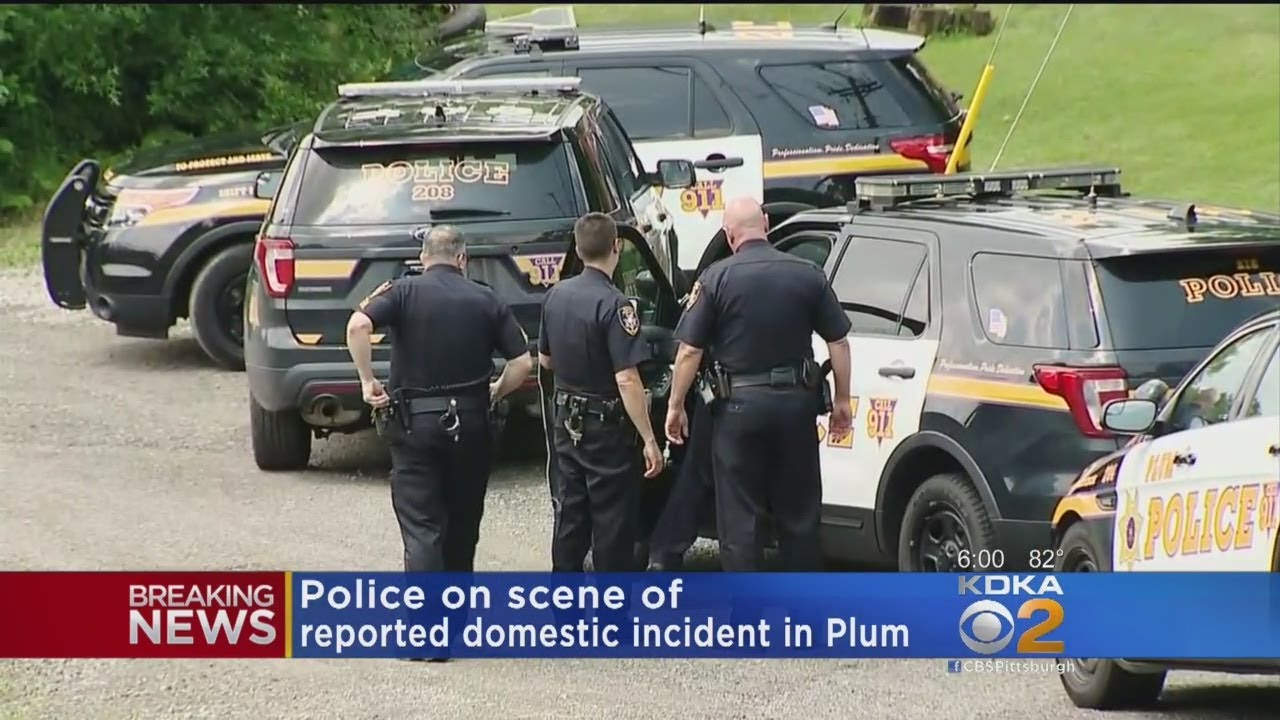 Police Swat Surround Home In Plum Borough Youtube
